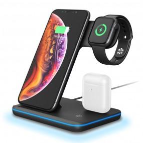 3in1 아이폰 에어팟 애플워치 충전 거치대 이미지