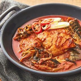 [수평선수산] 유명 식당 그맛! 고등어 시래기 조림 750g(2인분) 이미지