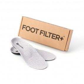 [풋필터] 신발 속 공기정화/깔창/스코리아/나투라/인솔/발냄새/세균99%억제/냄새제거율88% 이미지
