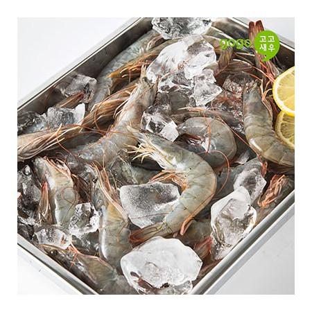 [고고새우]냉동 흰다리 새우 대하 사이즈 대 500g / 2kg
