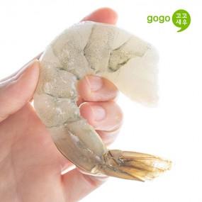 [고고새우]생 칵테일 새우 특대 800g 냉동 깐새우 감바스용 이미지