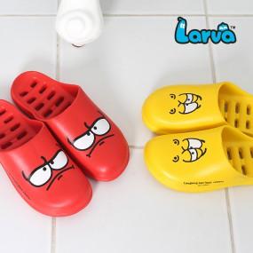 라바 아동 막힘 욕실화 이미지