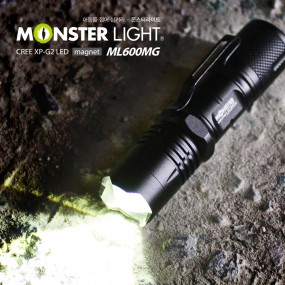 몬스터라이트 매그넛 XP-G2 LED 줌 라이트 ML600MG 이미지