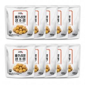 [교동식품] 교동 메추리알장조림 250g x 10팩(실온) 이미지
