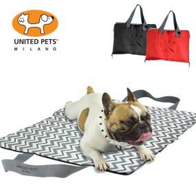 [유나이티드펫츠] 퍼시 휴대용 가방 겸용 쿠션 강아지 쿠션 이미지