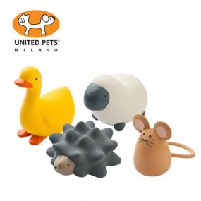 [유나이티드펫츠] 라텍스 해피 팜 강아지 장난감 4종 이미지