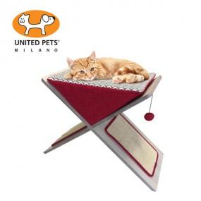 [유나이티드펫츠] 캣 스크래쳐&침대 고양이 스크래쳐 베드 이미지