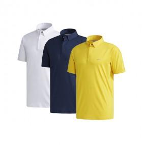 [아자픽] 아디퓨어 남성 반팔 골프 폴로 티셔츠 (화이트, 네이비, 옐로우) 이미지