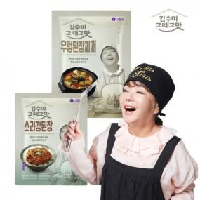 [김수미]그때그맛 우렁된장+소라강된장(총2팩) 이미지