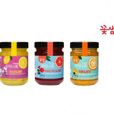 [꽃샘]피어나다 3종 세트 (국화&유자+자스민&레몬+히비스커스&자몽)
