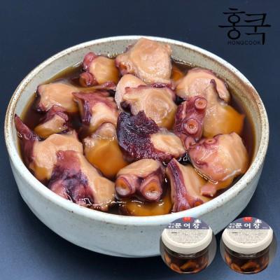 홍쿡 절대짜지 않은 감칠맛 문어장 600g 1+1 / 총 1.2kg / 무료배송