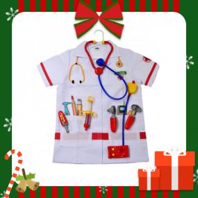 [크리스마스 선물] [클라인] 병원놀이 의사 가운 세트 역할놀이 세트 KL4312 이미지