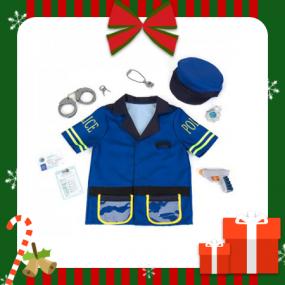 [크리스마스 선물] [클라인] 경찰놀이 경찰관 의상 역할놀이 세트 KL8893 이미지
