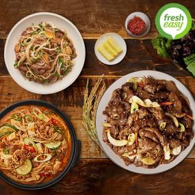 [프레시지] 저녁밥상세트 (기사식당돼지불고기 500g+고깃집된장찌개 535g+차돌박이숙주볶음 440g) 이미지