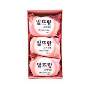 [아자마트] [LG생활건강] 알뜨랑비누 핑크 140g*3 이미지