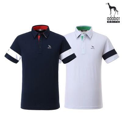 [아다바트화이트 ] adabat  골프티셔츠 103 반팔 골프웨어