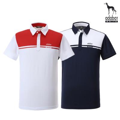[아다바트화이트 ] adabat  골프티셔츠 104 반팔 골프웨어