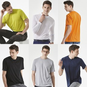[HL 앤디미온] 썸머 남성 스트라이프 티셔츠 6종 세트 이미지