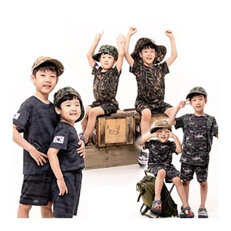 [정오의 특가] 어린이날 특가 ★네옥스 특허받은 쿨론 아동 밀리터리룩 상,하의 세트 3종 택1 이미지