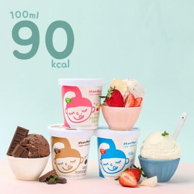 [3+1 이벤트] 무무팜 동물복지 유기농 아이스크림 파인트3종