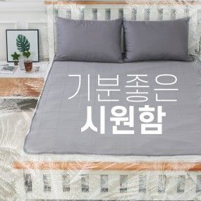 [비타그램] 쏘쿨매트 여름 방수 냉패드_싱글, 퀸 이미지