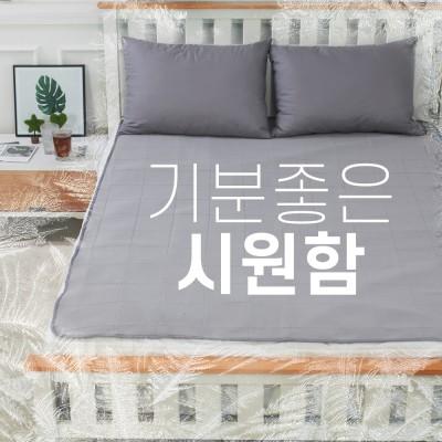 [비타그램] 쏘쿨매트 여름 방수 냉패드_싱글, 퀸