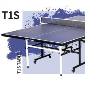T-1S 탁구대 - 프리미엄 라켓 세트가 포함된 초특가 CHAMPION 탁구대 이미지