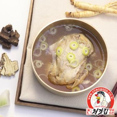 [복날맞이] 처가 닭영양탕 으랏차차차 한방 삼계탕 700g x 4봉 이미지