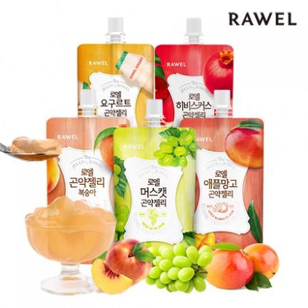 [로엘] 곤약젤리 1박스 골라담기(130ml x 10팩)  <br>애플망고,머스캣,요구르트,복숭아,히비스커스(석류)맛 이미지