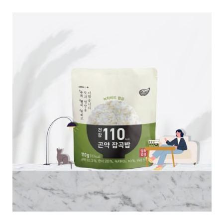 [슬림바디챌린지] (95~110kcal) 건강 곤약잡곡밥 3종 각 10팩 (무료배송) 이미지