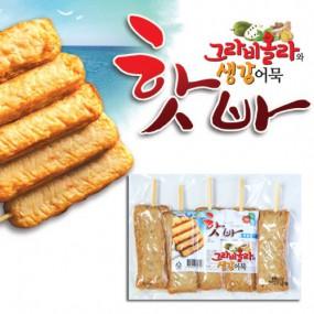 [해도식품] 그라비올라와생강어묵 매운고추맛 핫바 350g 이미지