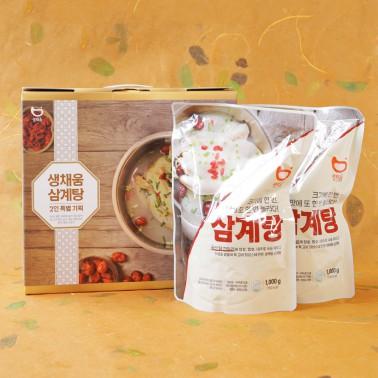 [복날맞이] ★복날대비 생채움 삼계탕 선물 세트 (1kg +1kg)★ 이미지