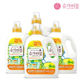 [슈가버블] 친환경 고농축 세탁세제 3.22L x4 이미지