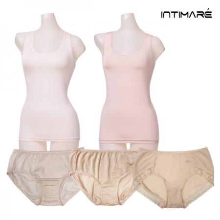 [인티마레] 인견 여성 속옷  클리어런스 세일 [런닝 3개입(2종) / 팬티 3개입(1종) / 팬티 5개입(2종)]