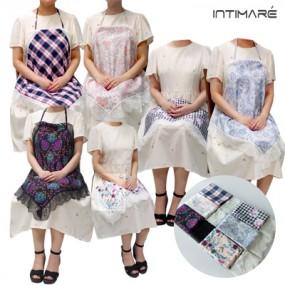 [인티마레]레이스 에티켓 손수건 단품or2매 세트(앞치마,무릎덮개,스카프 다용도 활용) 이미지