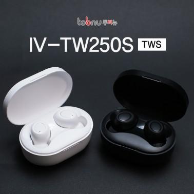 [블루투스 이어폰]투비뉴 IV-TW250S ♥초소형, 초경량 사이즈 및 IPX4 생활방수♥ 이미지
