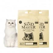 샌드마스터 하이브리드 2.8kg x 2개 벤토 고양이모래 이미지