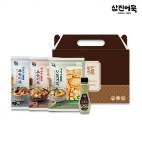 [삼진어묵] NEW 감사세트 (해물맛+야채맛+매운맛+와사비소스) 이미지