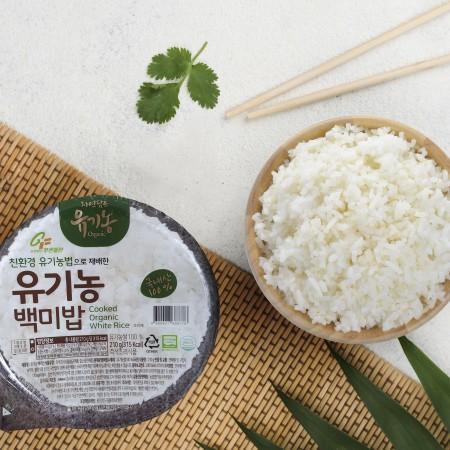 [푸른들판] 유기농 백미 즉석밥 210g x 24입/박스