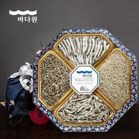 [추석PICK][바다원][명절선물세트] 팔각 한지함 세트 4호 이미지