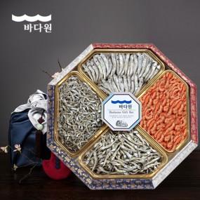 [추석PICK][바다원][명절선물세트] 팔각 한지함 세트 3호 이미지