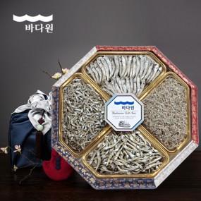 [추석PICK][바다원][명절선물세트] 팔각 한지함 세트 2호 이미지