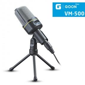 [개인방송장비][G-GOON VM-500]1인 미디어 방송장비 (유튜브, 아프리카 TV 등) 무지향성 스탠드 유튜브 마이크 이미지