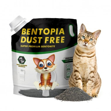 [지팔자]★구매시 사은품 증정★벤토피아 6.35kg 고양이 벤토나이트 모래 대용량 이미지