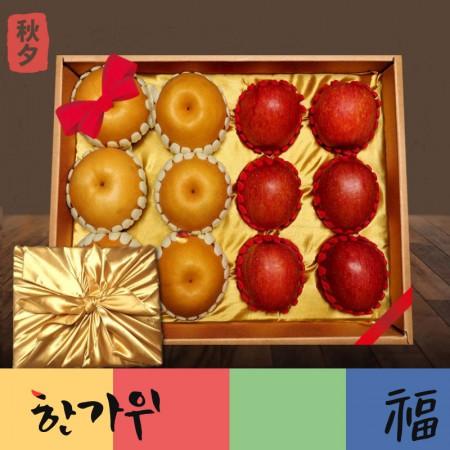 [추석PICK][9/26 밤12시주문마감] 아임애쁠 명절선물용 사과 배 선물세트