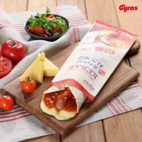 [기로스] 오리지널 치즈케밥 x 4개 (살사소스맛/토마토갈릭소스맛) 이미지