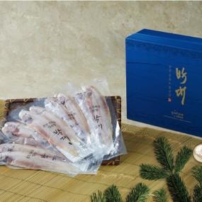군산 선유도 정선장 반건조 박대 중대 10마리 선물세트 이미지