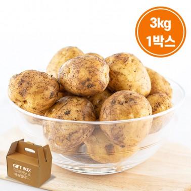 [그린팜] 국민의 농산물 친환경 재배 건강 수미감자!! 3kg 이미지