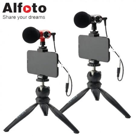 [개인방송장비] 올포토 카메라 스마트폰용 마이크 Q-Mic Kit 이미지
