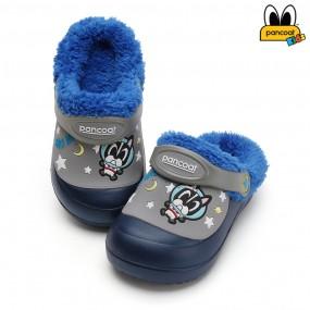 팬콧 스타 방한샌들_네이비 / 아동 겨울 초등 유아 이미지
